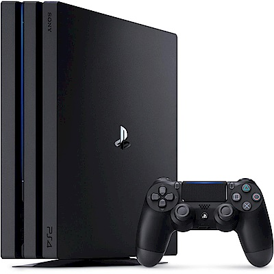 PS4 Pro 1TB主機 台灣公司貨 (黑色)