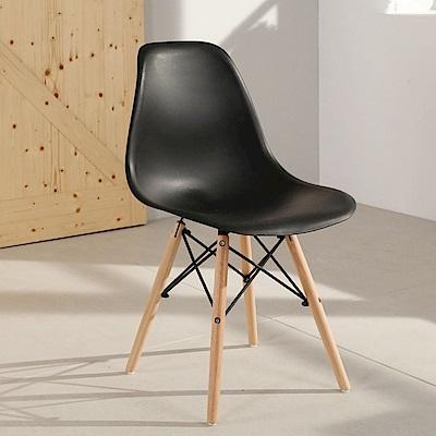 LOGIS邏爵- 摩登愛得拉餐椅 /工作椅/休閒椅/書桌椅/北歐風 2入組