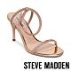 STEVE MADDEN-JELINA 水鑽金屬感細帶繞踝交叉涼鞋-金色 product thumbnail 1