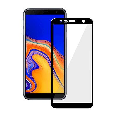 鋼化玻璃保護貼系列 Samsung  J6 Plus (2018)(6吋)(全滿版黑)
