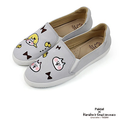 Paidal x 卡娜赫拉的小動物 小女孩&喵喵喵咪趣味貼布休閒鞋