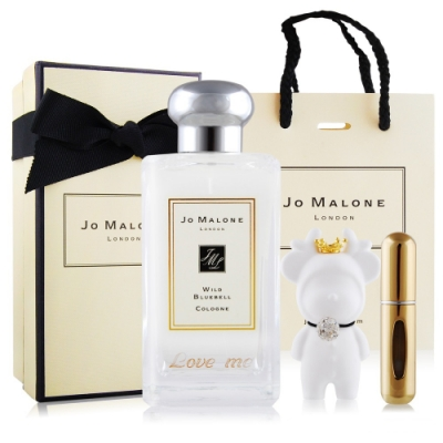 Jo Malone 藍風鈴香水100ml-Love Me刻字版+擴香石&分裝空瓶