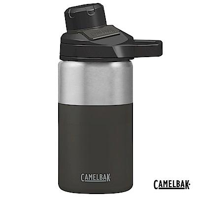 【美國 CamelBak】350ml Chute Mag戶外運動保冰/溫水瓶 濃黑