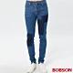 BOBSON 男款有機綿高腰窄管褲 product thumbnail 1