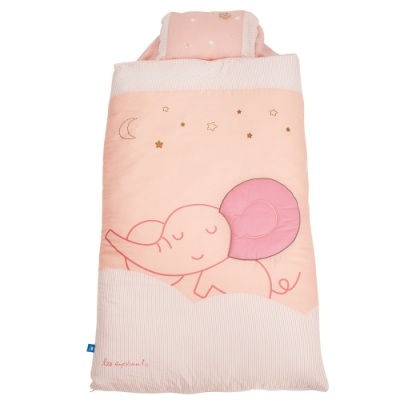 les enphants(麗嬰房) 膠原蛋白x天絲系列-睡袋 (2色可選)