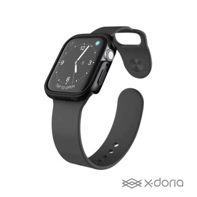X-doria Apple Watch 40mm 保護殼 DEFENSE 刀鋒系列 曜石黑