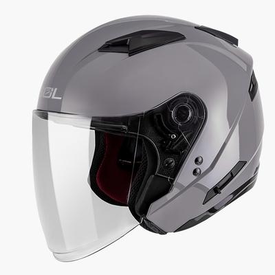 SOL SO-7E 素色 3/4開放式安全帽 (水泥灰)