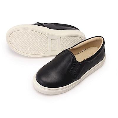 BuyGlasses 馬卡龍簡約童鞋-黑