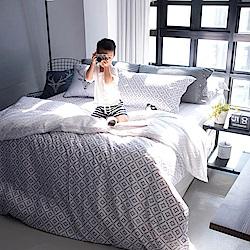 OLIVIA Oliver 特大雙人薄床包薄被套四件組 300織萊賽爾TENCEL 台灣製