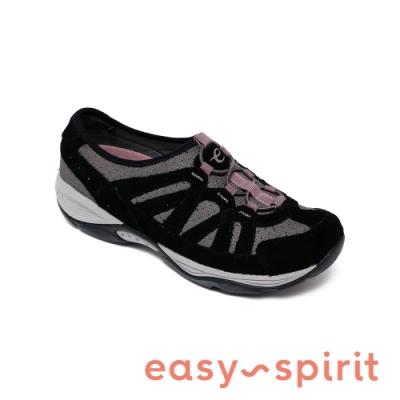 Easy Spirit-seEXPLORIE 運動百搭輕量休閒鞋-絨黑