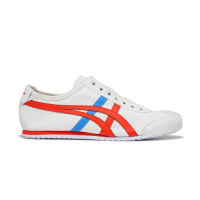 OT鬼塚虎-MEXICO 66 SLIP-ON休閒鞋 男女(白色)