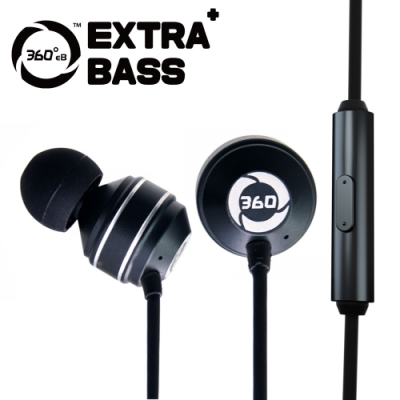 360eB EXTRA+ BASS 音霸5.1重低音耳機