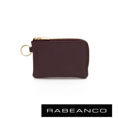 RABEANCO 迷時尚系列鑰匙零錢包 紫