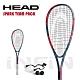 【HEAD】壁球拍 SPARK TEAM PACK 195g 藍/紅 214129 product thumbnail 1