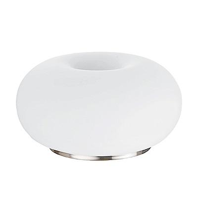 EGLO歐風燈飾 歐風玻璃圓盤燈罩床頭燈(不含燈泡)