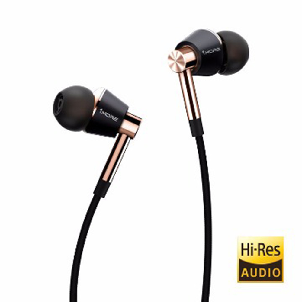1MORE 三單元圈鐵耳機(E1001)