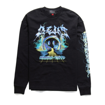Deus Ex Machina Sympathy Ls Tee長袖T恤 - 黑
