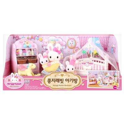 韓國 動物公仔 兔寶家族  - 寶寶嬰兒房