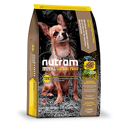 Nutram紐頓 T28 無榖挑嘴全齡迷你犬(鮭魚+鱒魚)配方 2.72KG
