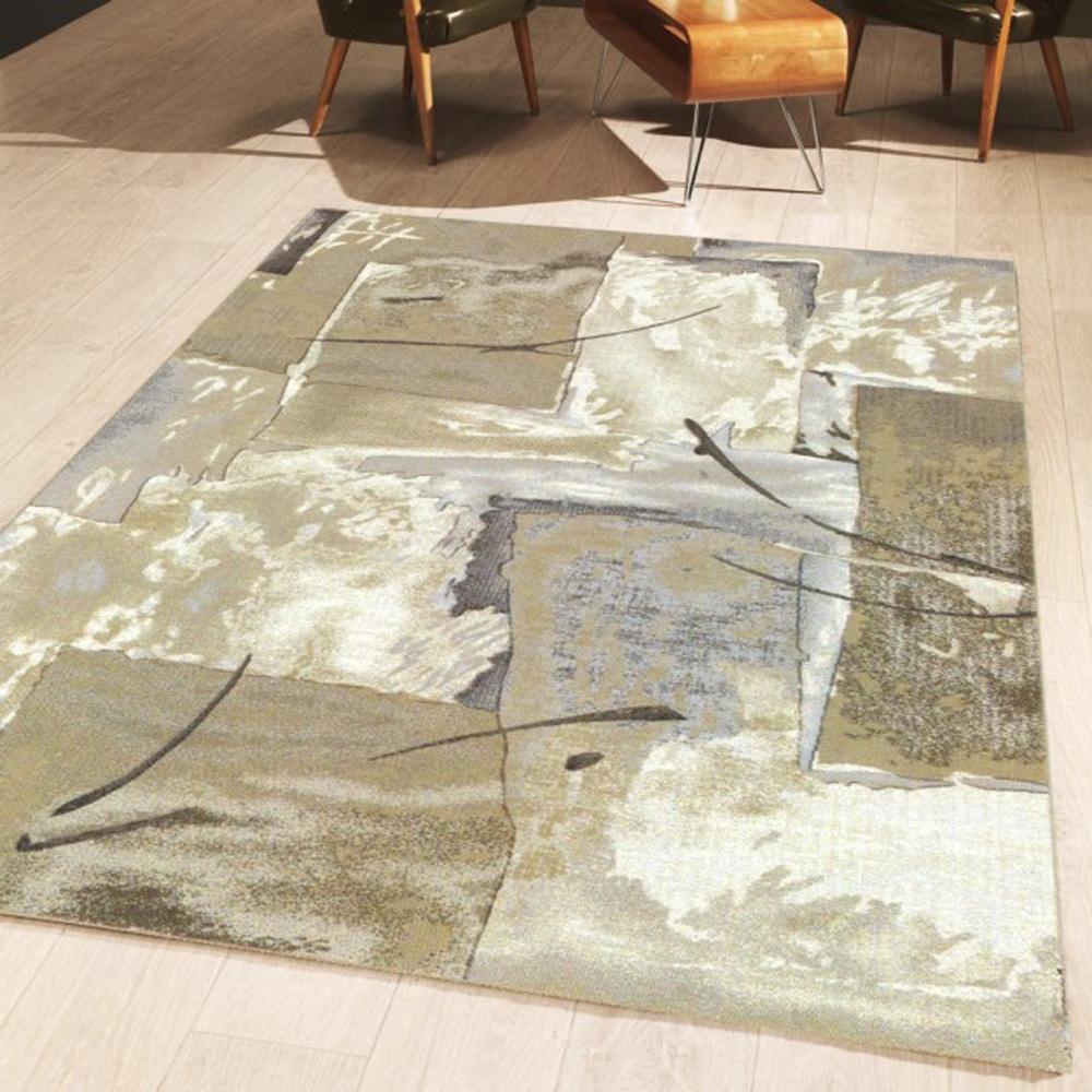 范登伯格 - 絕代 進口絲質地毯-拼圖 (100x140cm)