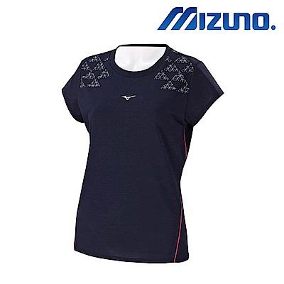 MIZUNO 美津濃 女路跑短袖T恤 J2TA770313