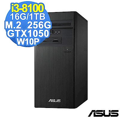 ASUS M640MB i3-8100/16G/1TB+256G/GTX1050/W10P