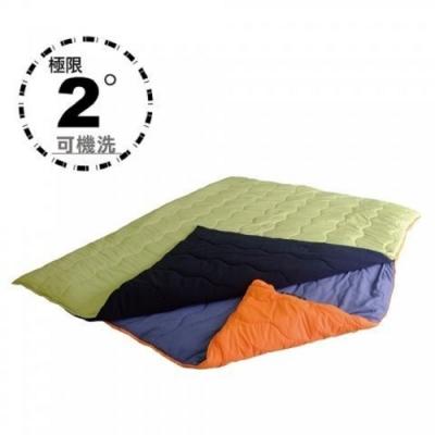 100mountain H606D 2in1 二合一雙人化纖睡袋 可機洗