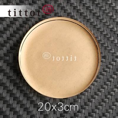 琉園tittot 壓克力底座_20x3cm中圓 3件組