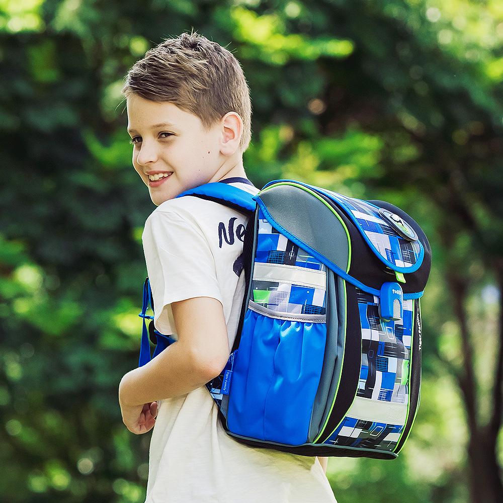 TigerFamily學院風超輕量護脊書包-共7款(買就送文具袋+鉛筆盒)