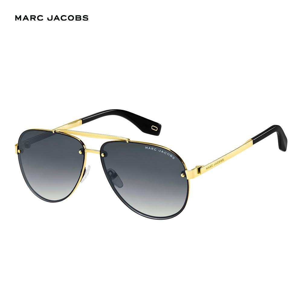 Marc Jacobs- MARC 317/S 都會帥氣飛官太陽眼鏡 黑色