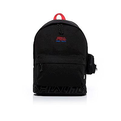 FILA 後背包(附零錢包)-黑色 BPT-1601-BK