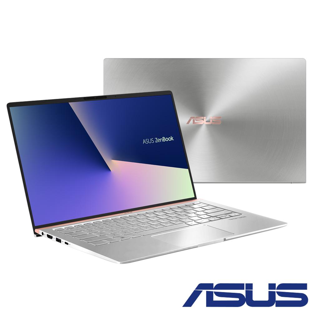 ASUS UX433FN 14吋輕薄筆電(i7-8565U/16G/512G/MX150/銀