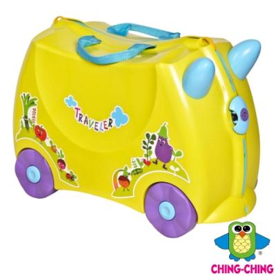 親親Ching Ching 兒童騎乘登機箱(行李箱)-黃