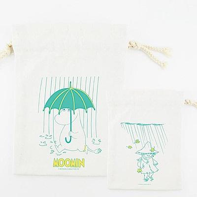 Moomin 09雨中散步(束口袋-大)