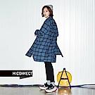 H:CONNECT 韓國品牌 女裝-顯瘦不收邊牛仔長褲-黑
