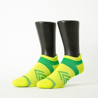 Footer除臭襪-雙側翼護足輕壓力船短襪-六雙入(黑*2+綠*2+藍*2)