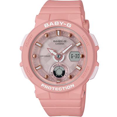 BABY-G海洋風格運動腕錶(BGA-250-4A)