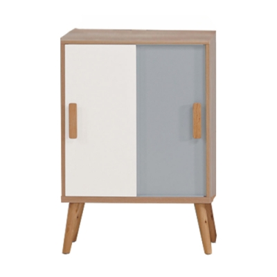 文創集 費羅亞現代2尺推門展示櫃/收納櫃-60x30x85.5cm免組