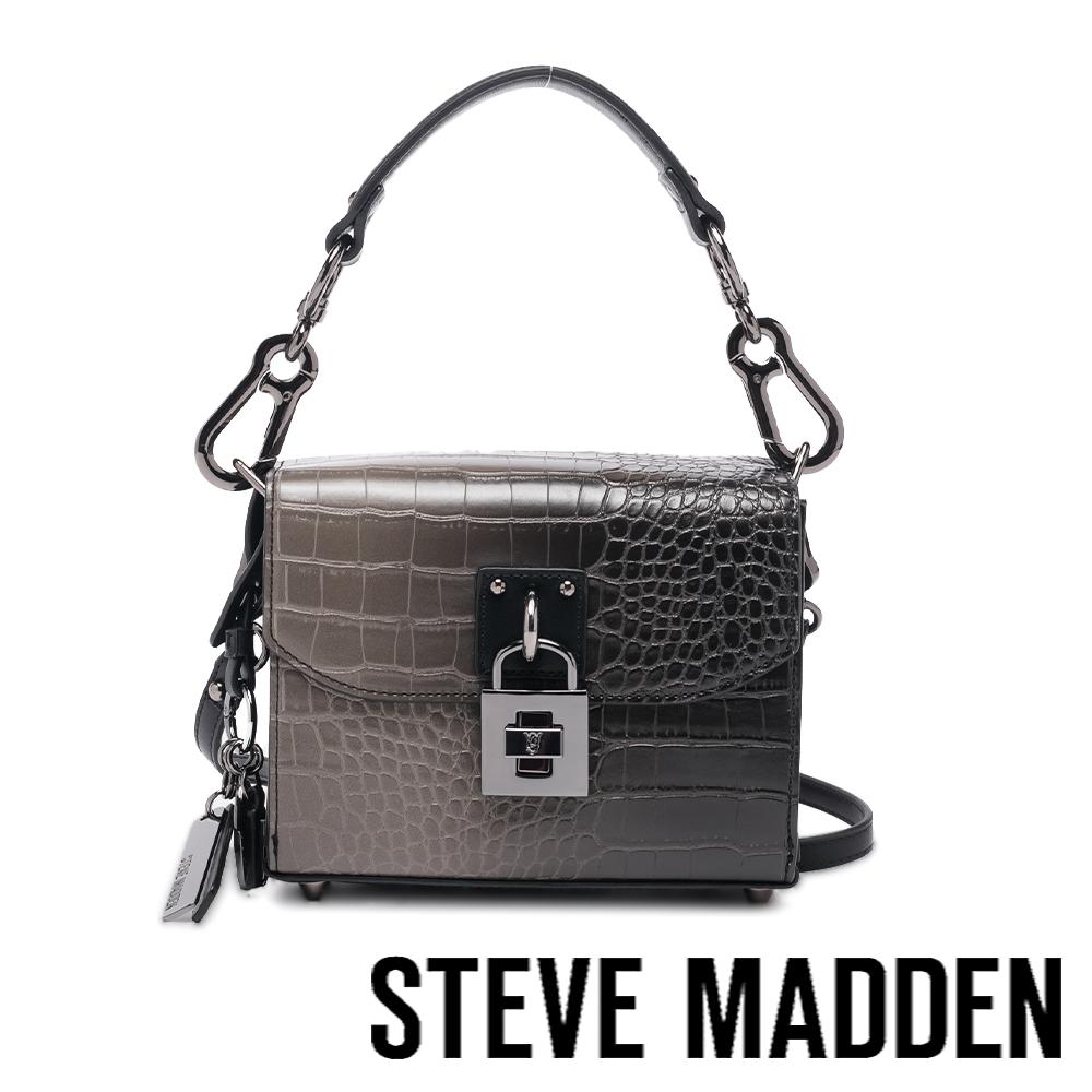STEVE MADDEN-BESTHER 金練方形相機包-漸層黑