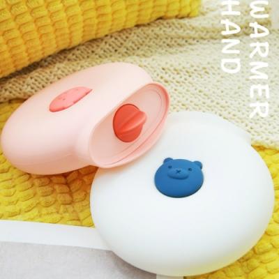 【泰GER生活選物】暖萌小熊熱水袋 (可微波可冷藏/矽膠注水式/暖手寶/冷熱兩用)