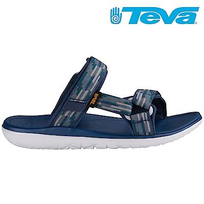TEVA Terra-float slide 男超輕量戶外涼鞋 海軍藍