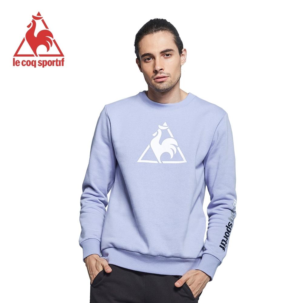 法國公雞牌圓領T恤 LWK2330323-男-星辰紫