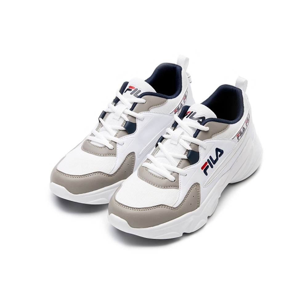 FILA HIDDEN TAPE 2 男慢跑鞋-灰/白 1-J329V-143