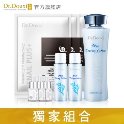 Dr.Douxi朵璽 健康水255ml+健康水30ml*2+蝸精5ml*3+蝸牛面膜*3