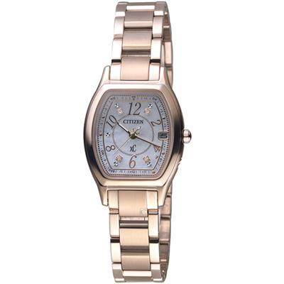 CITIZEN xC 綻放時刻鈦金屬限量腕錶(ES9356-55W)