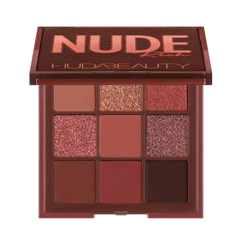 (NG品)HUDA BEAUTY NUDE裸色系列 9色眼影盤#Rich 9x1.1g