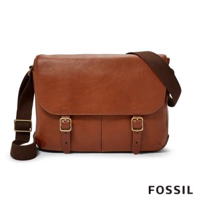 FOSSIL BUCKNER 每日通勤小型郵差包-干邑色 MBG9423222
