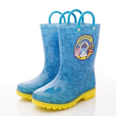 POLI童鞋 波力雨鞋款 NI1606藍(中小童段)