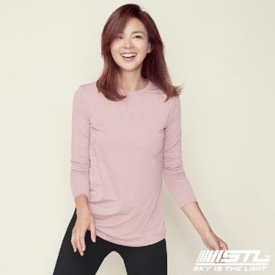 STL Essence Long Sleeve 韓國運動機能長袖上衣 本質寶寶粉
