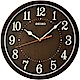 SEIKO精工 歐風時尚 滑動式秒針靜音掛鐘(QXA718B)-31cm product thumbnail 1